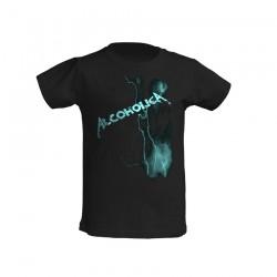 AlcoholicA Lightning T-Shirt Junior's