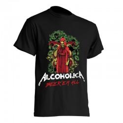AlcoholicA Beer'em All 2 T-Shirt Men's