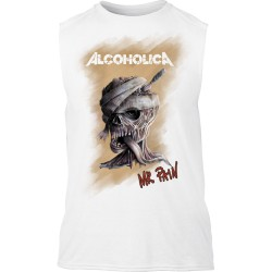MR PAIN Men Tank White