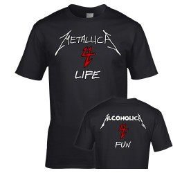 Alcoholica 4 Fun Metallica 4 Life