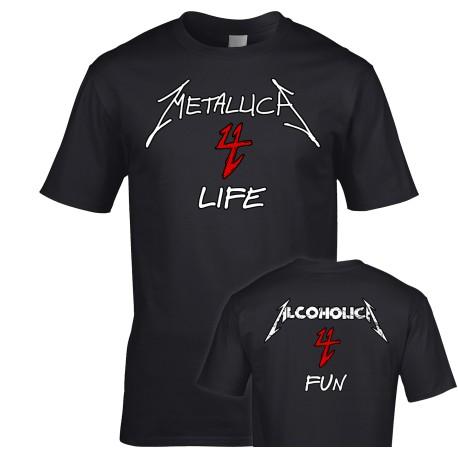 Alcoholica 4 Fun Metallica 4 Life