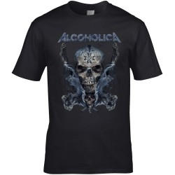 ALCOHOLICA Men Black
