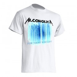 AlcoholicA For Those Who Left Alternative T-Shirt Men's