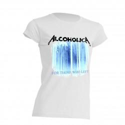 AlcoholicA For Those Who Left Alternative T-Shirt Women's